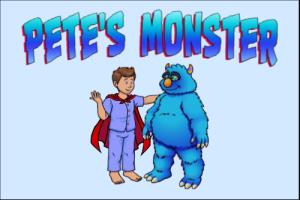 Pete's Monster children's Books