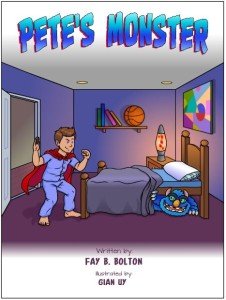 Pete's monster book cover